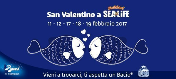 Photo of Gardaland Sea Life Biglietto Gratis San Valentino 2017
