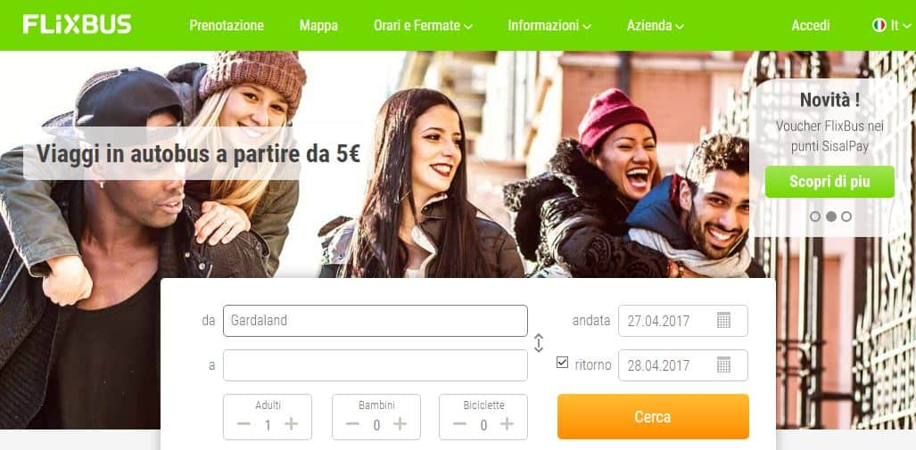 Photo of Coupon FlixBus Milano-Gardaland -15% di Sconto