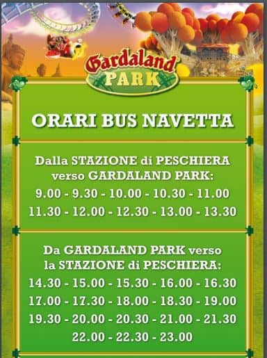 Photo of Gardaland Bus Gratis