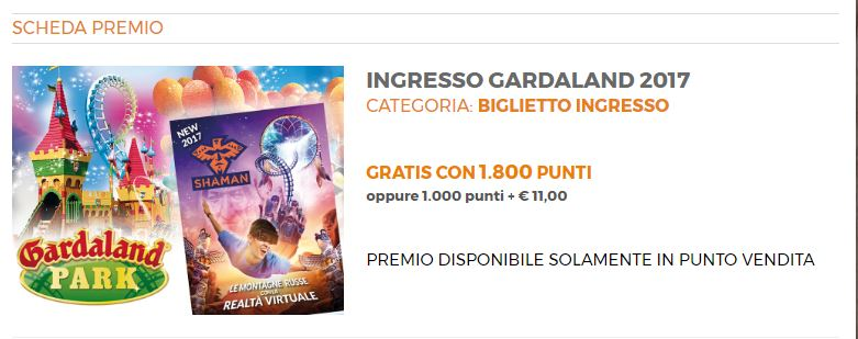 Photo of Gardaland Biglietto Gratis Alì Supermercati