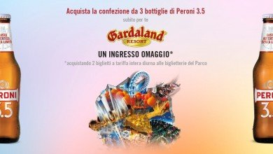 Photo of Gardaland Biglietto Gratis 2017 con Peroni