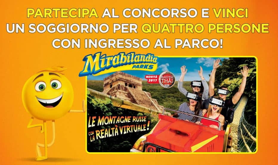 Photo of Mirabilandia 2017: Vinci un week-end per 4 persone