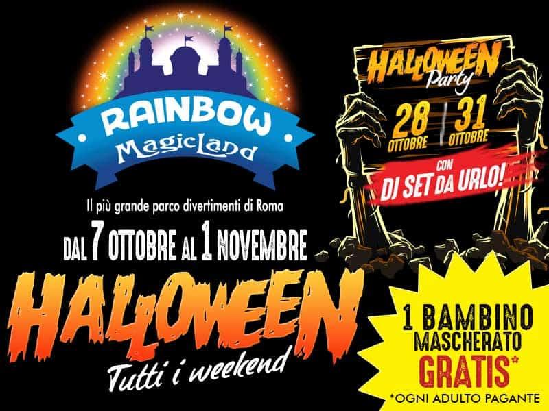 Photo of Rainbow MagicLand Halloween Biglietto Gratis Bambini