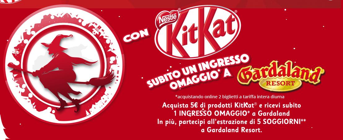 Photo of Vinci Gardaland Hotel + Biglietti per 4 persone con KitKat 2018