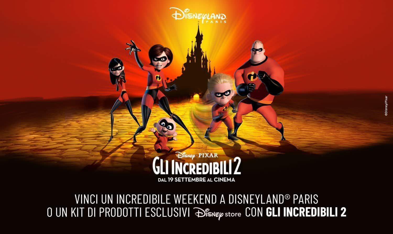 Photo of Vinci Weekend a Disneyland Paris con gli Incredibili 2