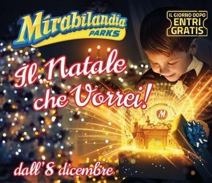 Photo of Mirabilandia Biglietti Gratis e Offerte Natale