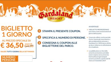Photo of Gardaland Coupon 2019