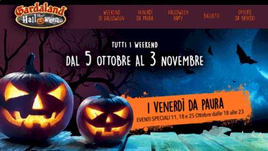 Photo of Gardaland Halloween offerte biglietti