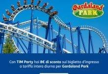 Photo of TIM Party 8€ di sconto sul biglietto d'ingresso per Gardaland